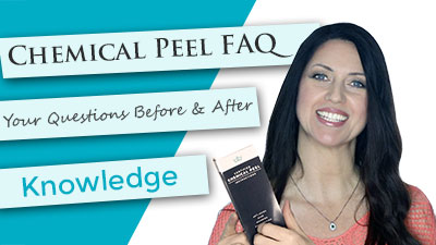 Chemical Peel FAQ's